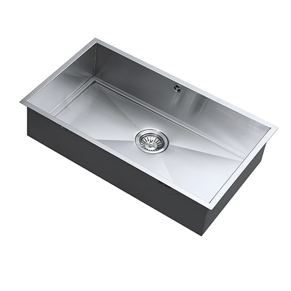 The 1810 Company Axixuno 700U SOS 1.0 Bowl Kitchen Sink - Stainless Steel-0