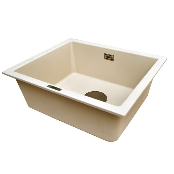 The 1810 Company Cavauno 469U 1.0 Bowl Kitchen Sink - Champagne