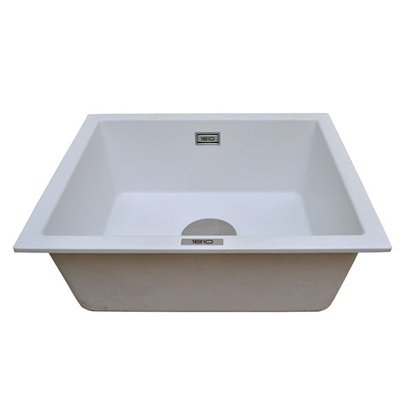 The 1810 Company Cavauno 469U 1.0 Bowl Kitchen Sink - Polar White