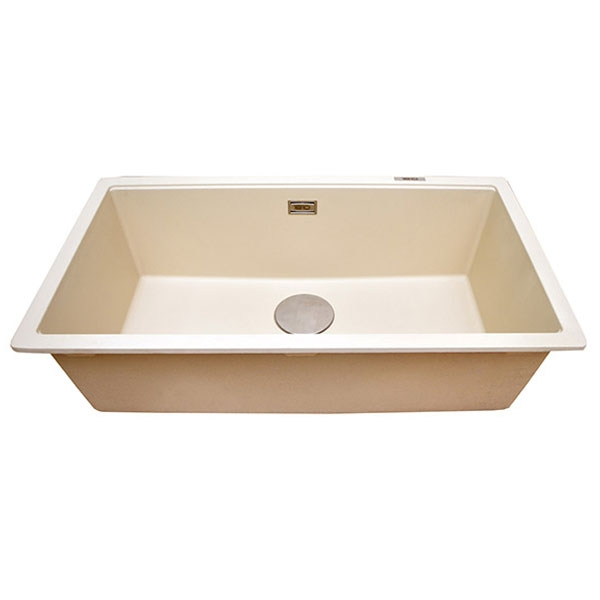 The 1810 Company Cavauno 720U 1.0 Bowl Kitchen Sink - Champagne-0