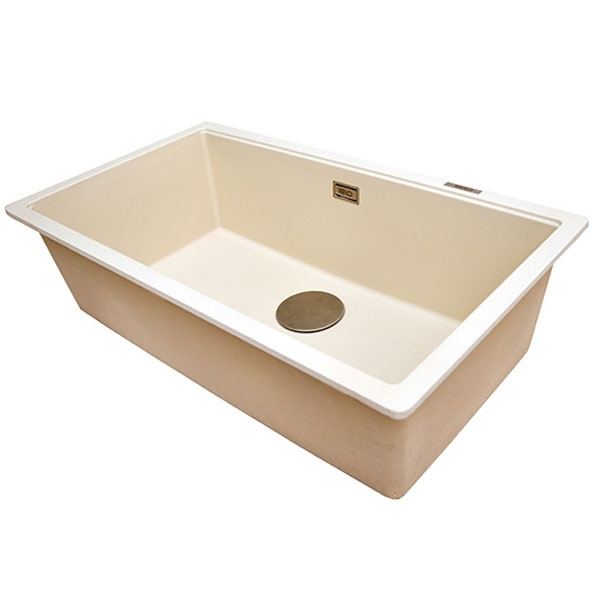 The 1810 Company Cavauno 720U 1.0 Bowl Kitchen Sink - Champagne