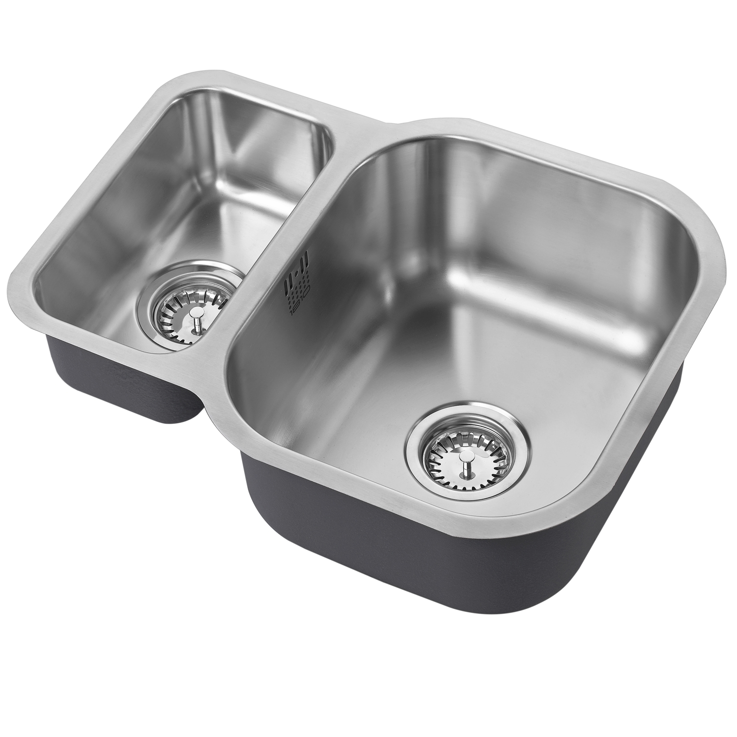 The 1810 Company Etroduo 589/450U 1.5 Bowl Kitchen Sink - Reversible