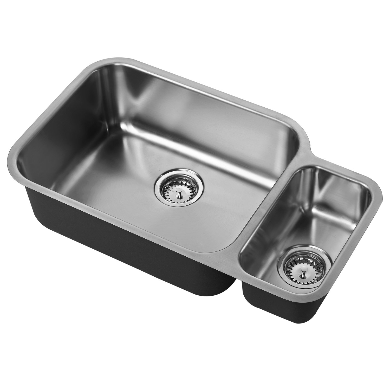 The 1810 Company Etroduo 781/450U 1.5 Bowl Kitchen Sink - Left Handed