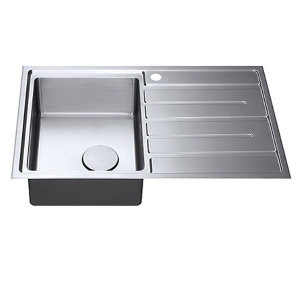 The 1810 Company Forzauno 800i 1.0 Bowl Kitchen Sink - Left Handed