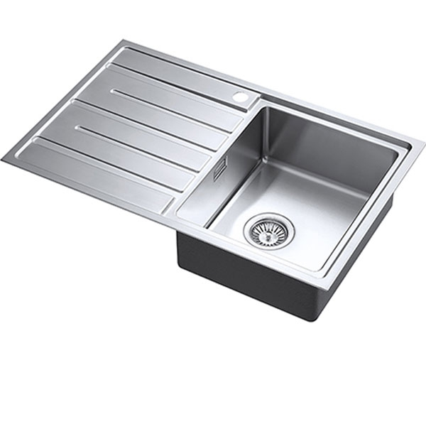 The 1810 Company Forzauno 800i 1.0 Bowl Kitchen Sink - Right Handed-0