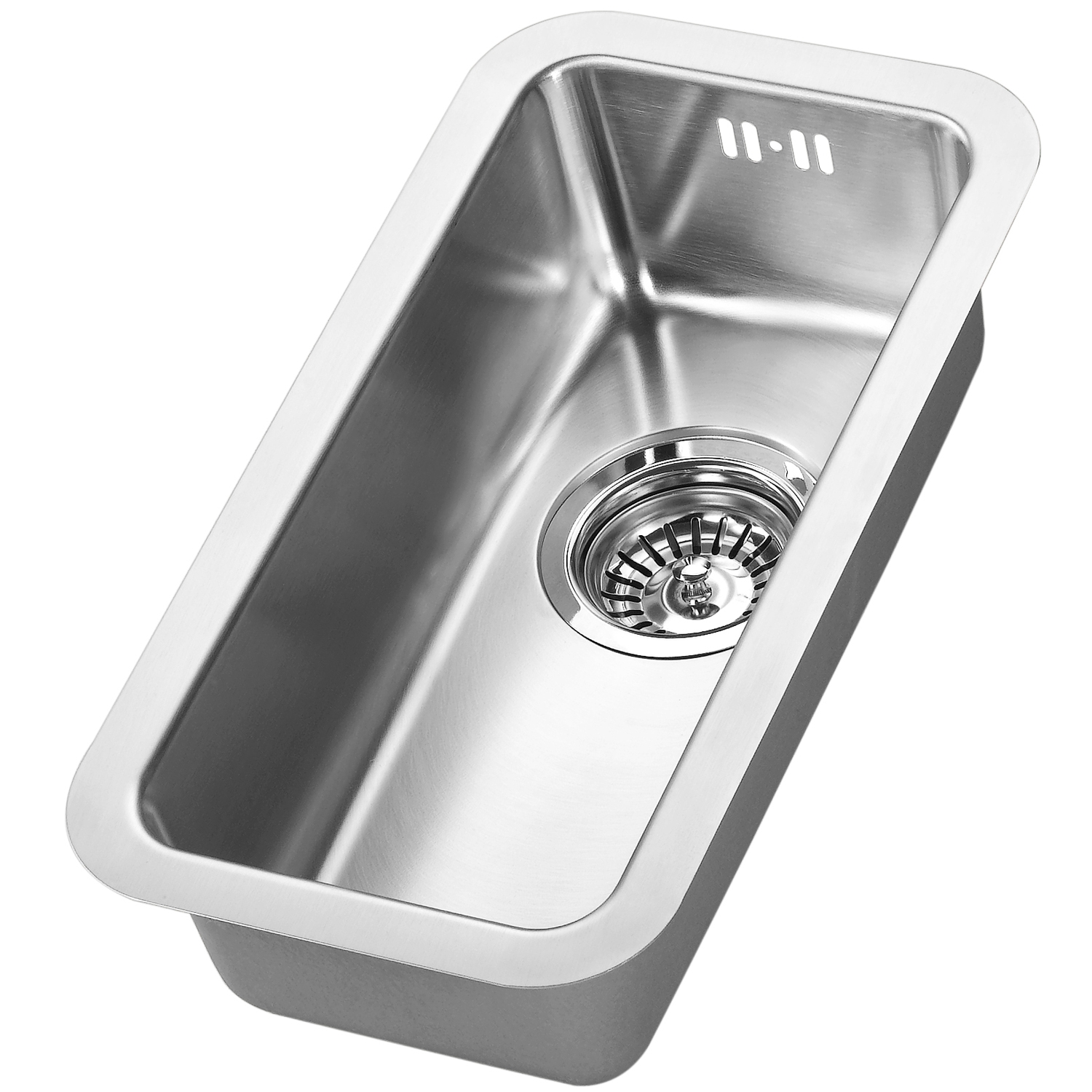 The 1810 Company Luxsouno25 180U 1.0 Bowl Kitchen Sink - Stainless Steel-0