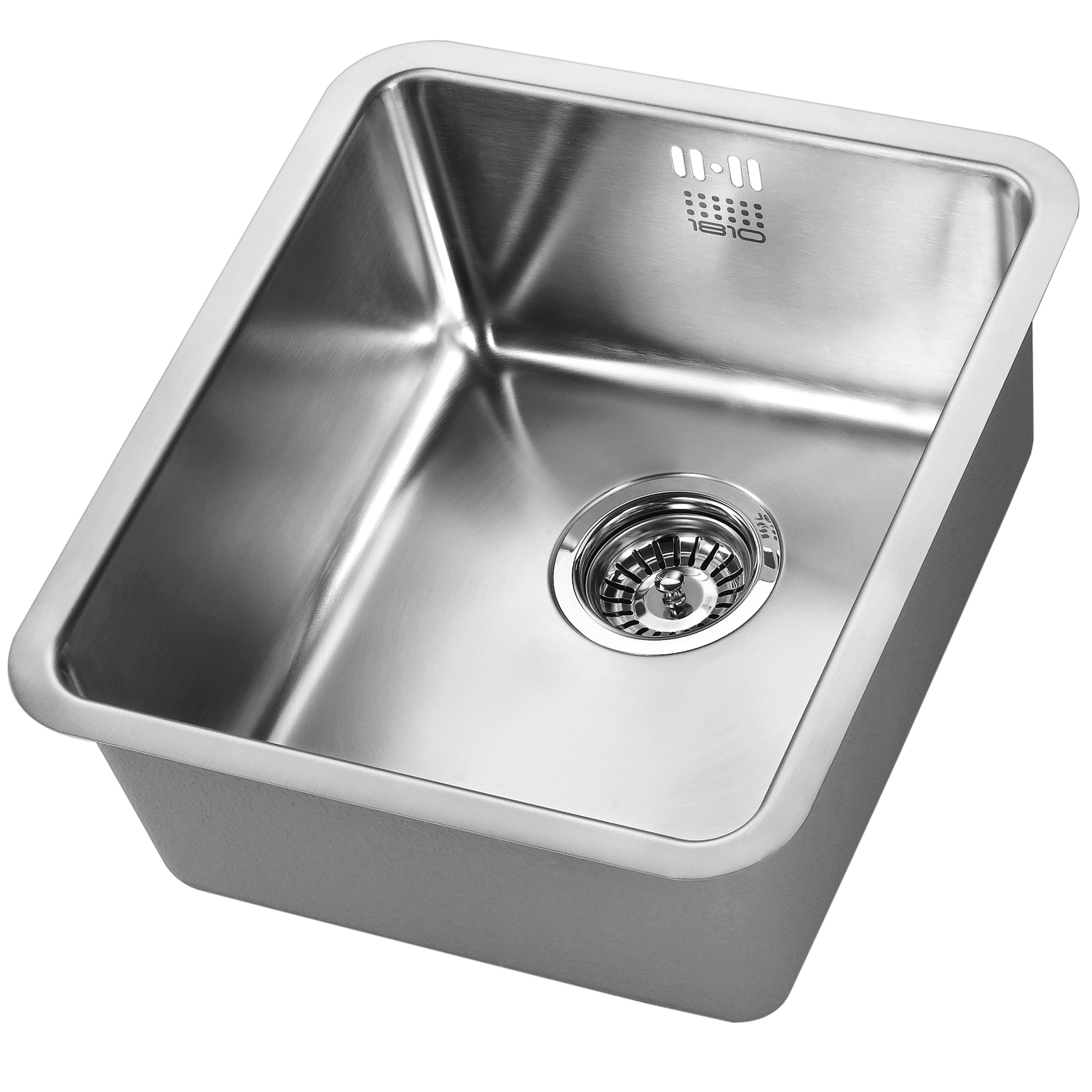 The 1810 Company Luxsouno25 340U 1.0 Bowl Kitchen Sink - Stainless Steel-0