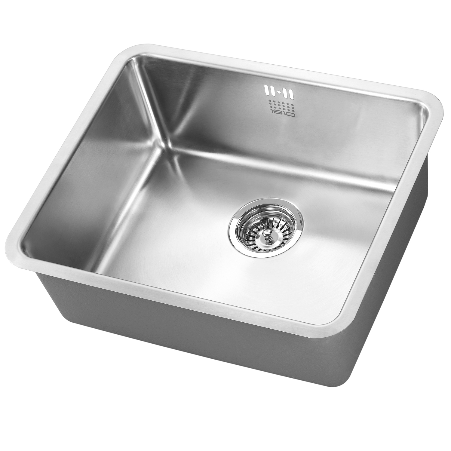 The 1810 Company Luxsouno25 480U 1.0 Bowl Kitchen Sink - Stainless Steel-0