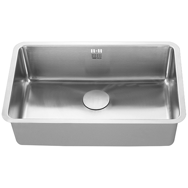 The 1810 Company Luxsouno25 650U 1.0 Bowl Kitchen Sink - Stainless Steel