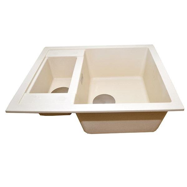The 1810 Company Shardduo 615i 1.5 Bowl Kitchen Sink - Champagne