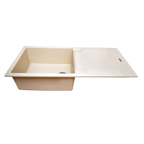The 1810 Company Sharduno 100i 1.0 Bowl Kitchen Sink - Champagne