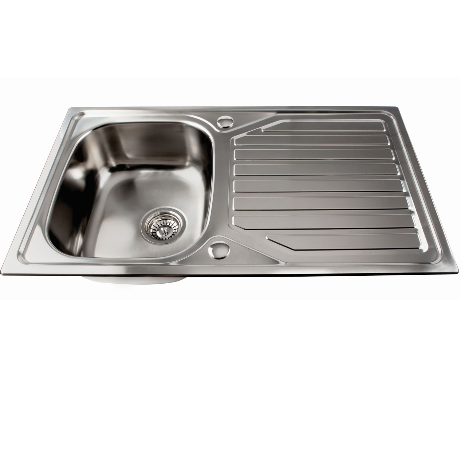 The 1810 Company Veloreuno 860i 1.0 Bowl Kitchen Sink - Stainless Steel