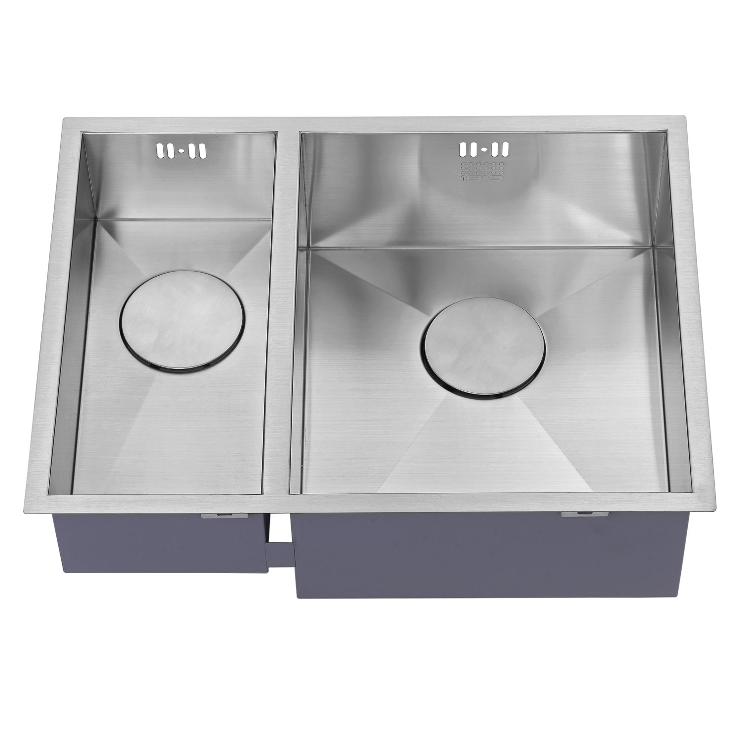 The 1810 Company Zenduo 180/340U 1.5 Bowl Kitchen Sink - Right Handed-1