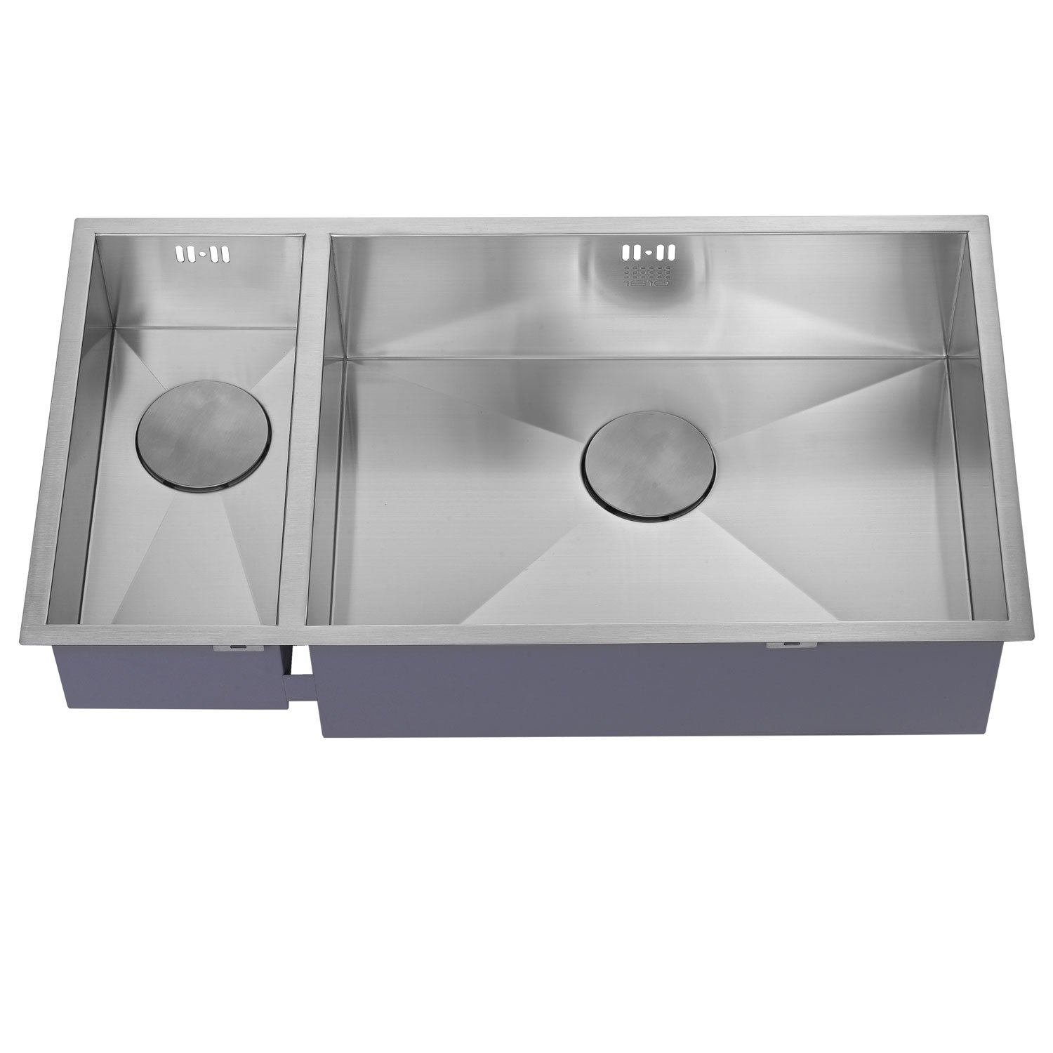 The 1810 Company Zenduo 180/550U 1.5 Bowl Kitchen Sink - Right Handed-1