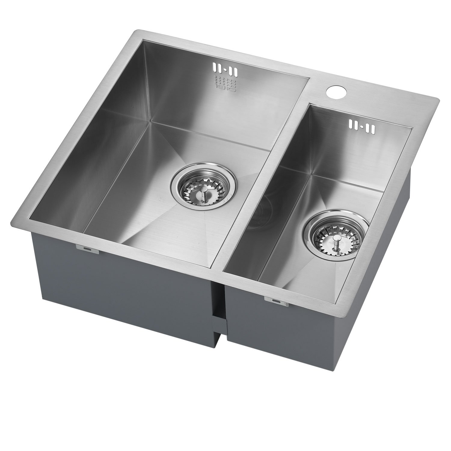 The 1810 Company Zenduo 310/180 I-F 1.5 Bowl Kitchen Sink - Left Hand-0