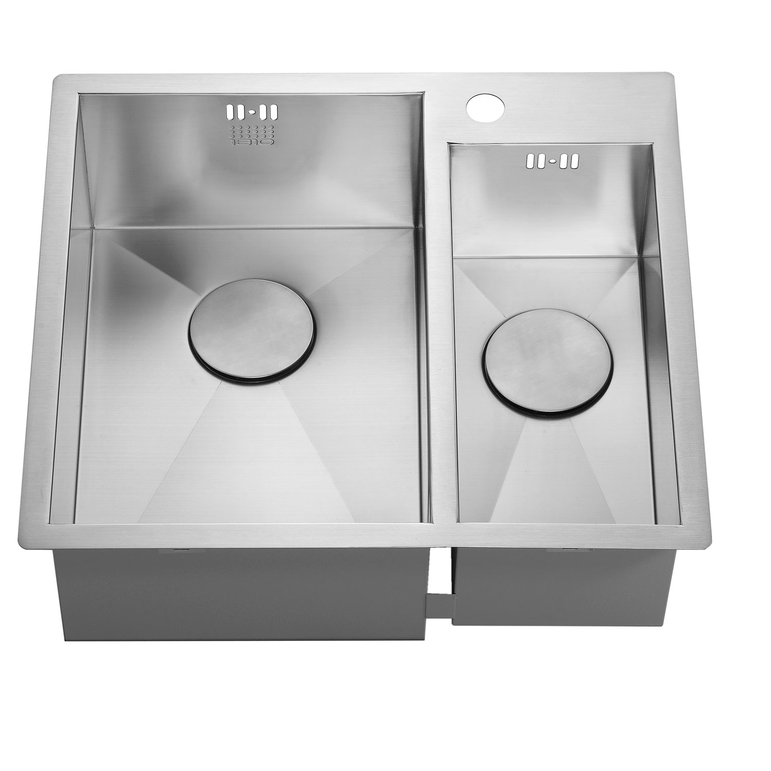 The 1810 Company Zenduo 310/180 I-F 1.5 Bowl Kitchen Sink - Left Hand-1