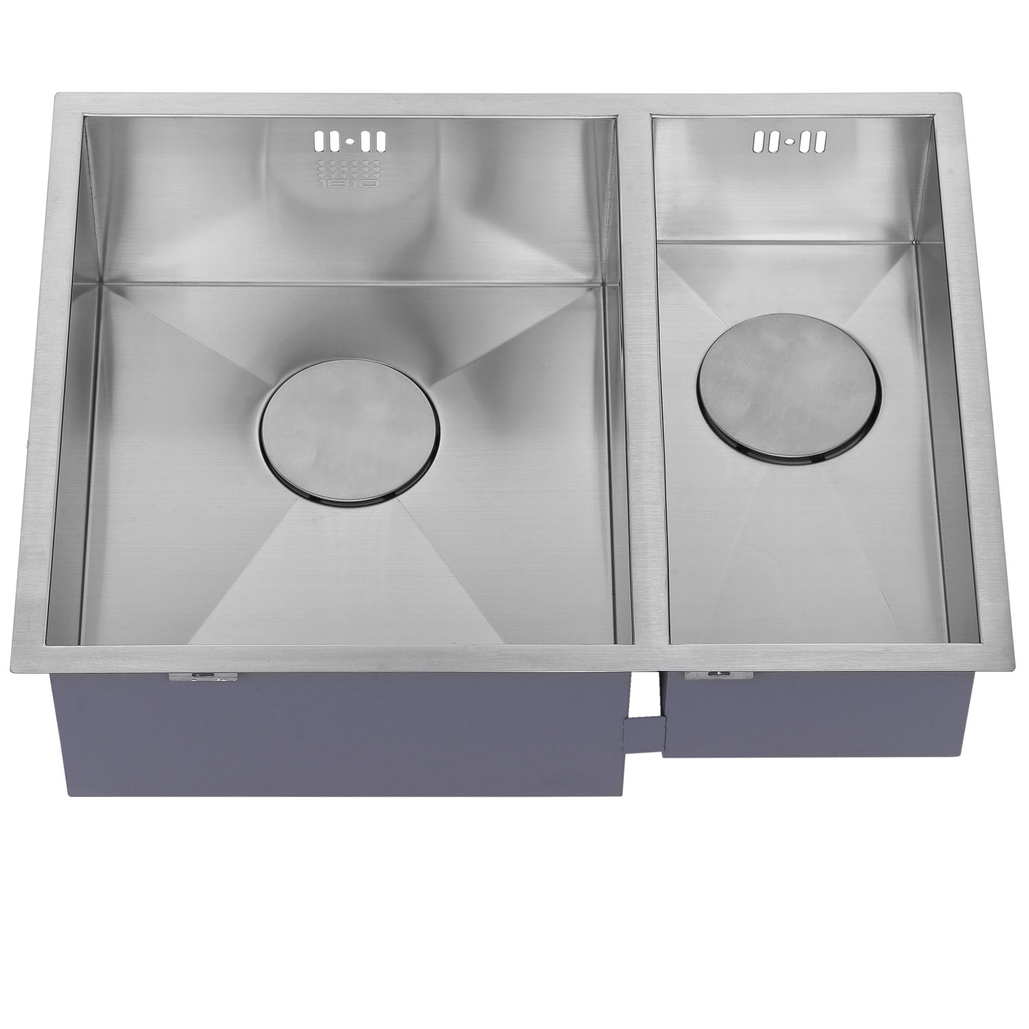 The 1810 Company Zenduo 340/180U 1.5 Bowl Kitchen Sink - Left Handed