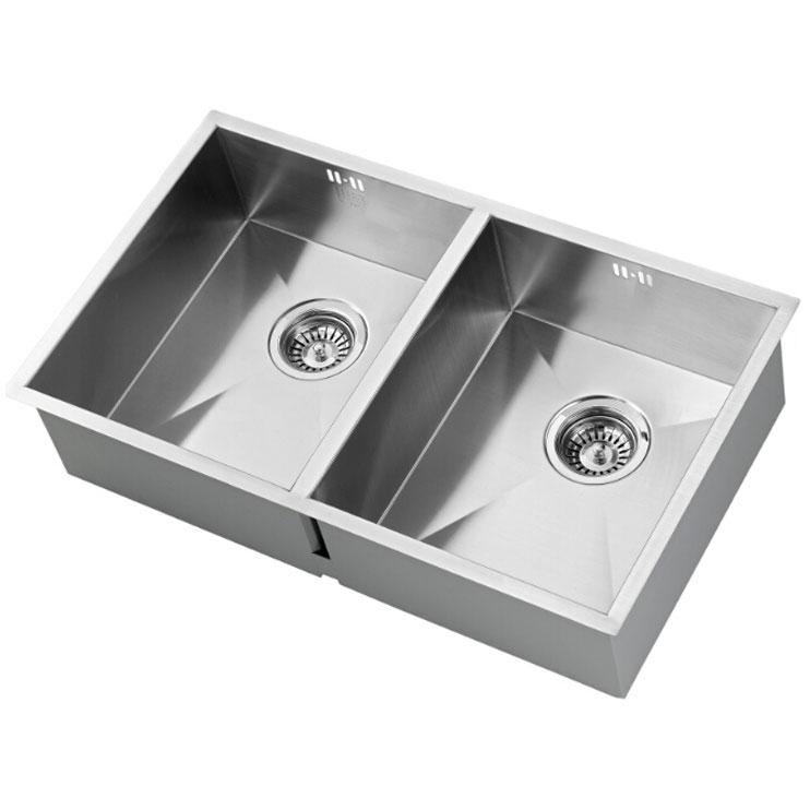 The 1810 Company Zenduo 340/340U 2.0 Bowl Kitchen Sink - Stainless Steel-0