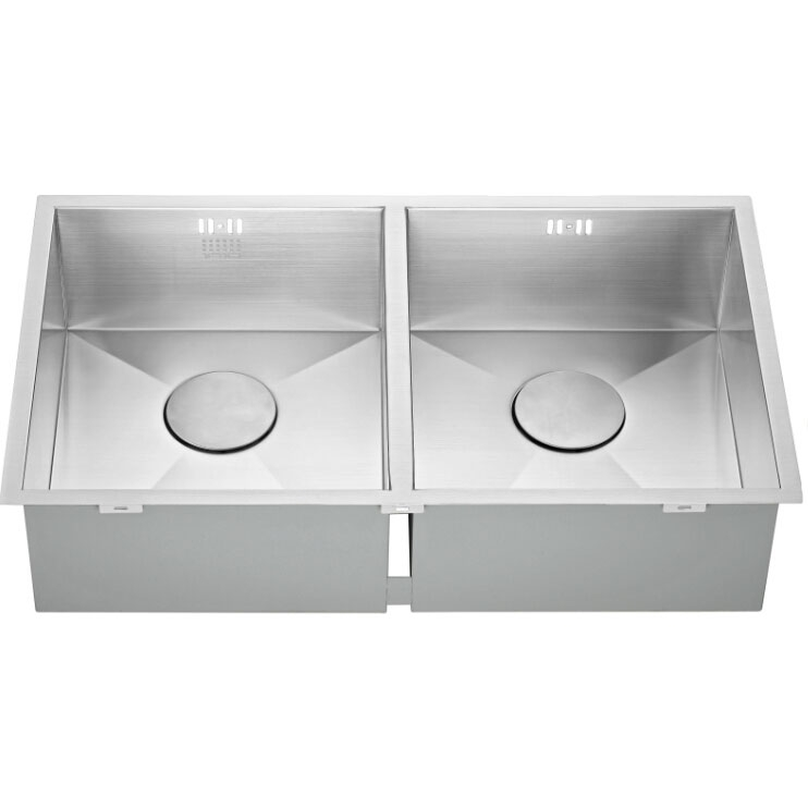 The 1810 Company Zenduo 340/340U 2.0 Bowl Kitchen Sink - Stainless Steel