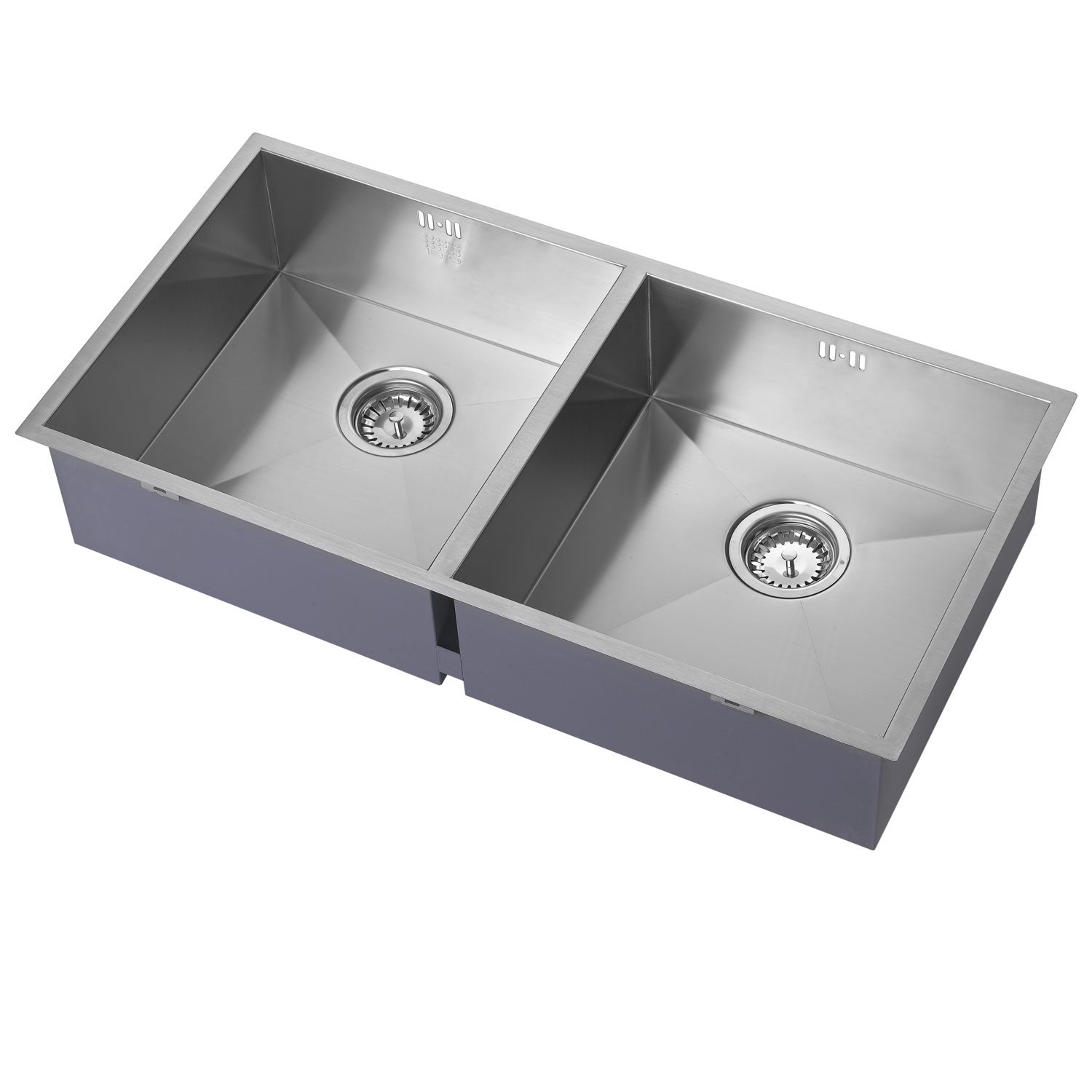The 1810 Company Zenduo 400/400U 2.0 Bowl Kitchen Sink - Stainless Steel-0