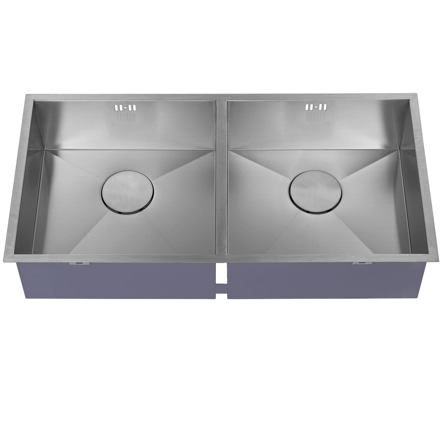 The 1810 Company Zenduo 400/400U 2.0 Bowl Kitchen Sink - Stainless Steel-1