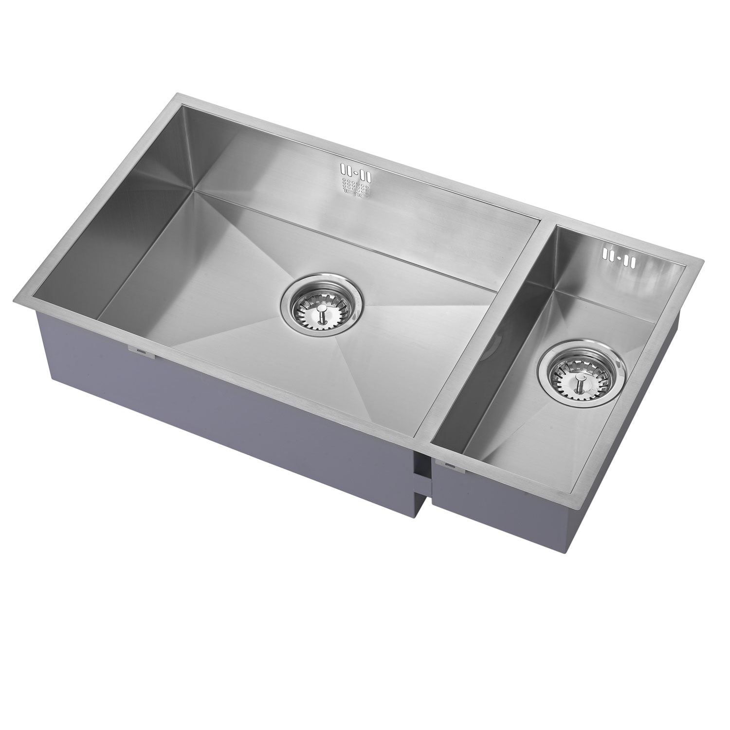 The 1810 Company Zenduo 550/180U 1.5 Bowl Kitchen Sink - Left Handed