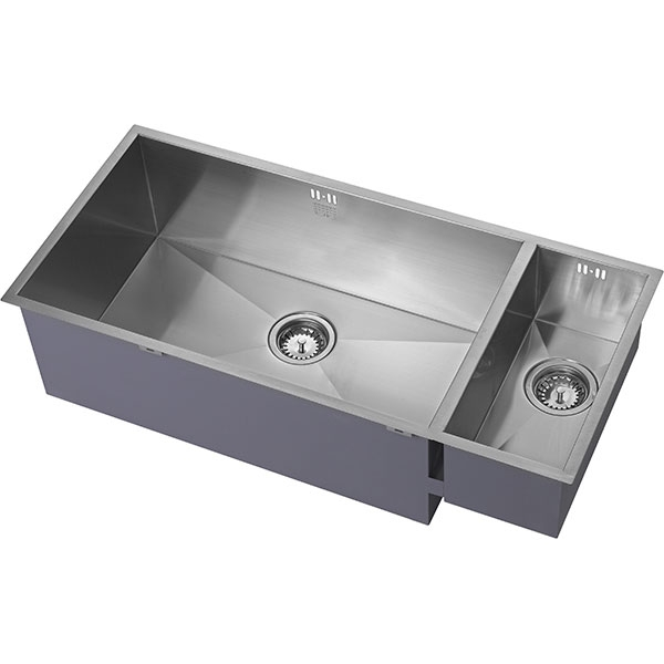 The 1810 Company Zenduo 700/180U 1.5 Bowl Kitchen Sink - Left Handed