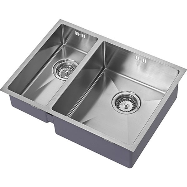 The 1810 Company Zenduo15 180/340U 1.5 Bowl Kitchen Sink - Right Handed