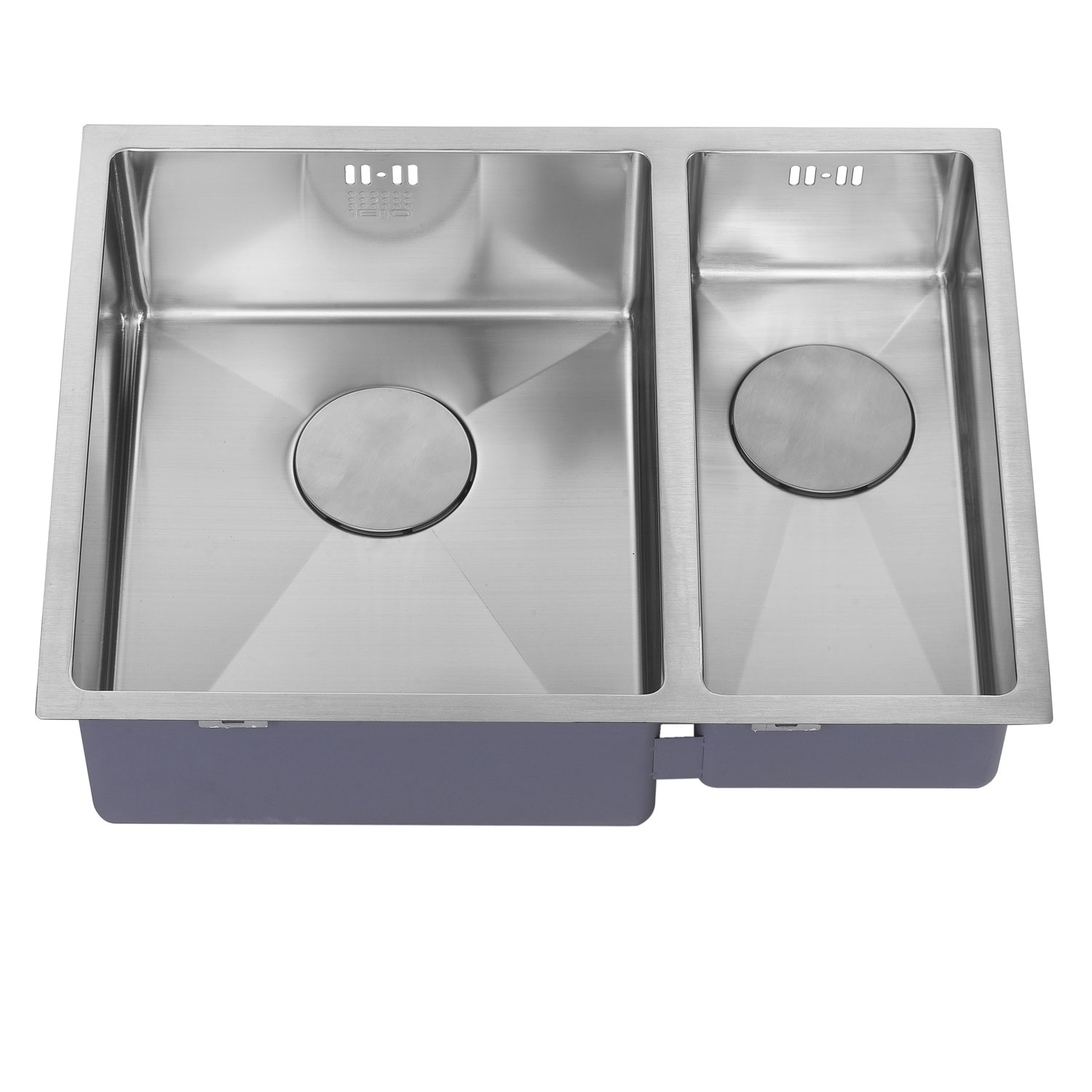 The 1810 Company Zenduo15 340/180U 1.5 Bowl Kitchen Sink - Left Handed