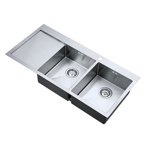 The 1810 Company Zenduo15 34/34 I-F 2.0 Bowl Kitchen Sink - Right Handed