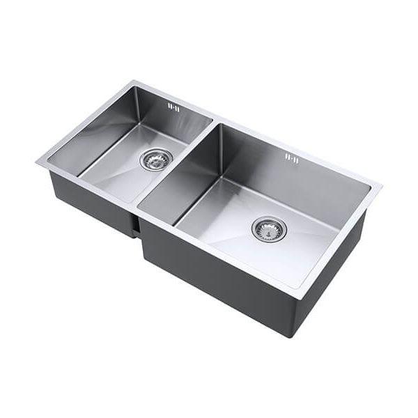 The 1810 Company Zenduo15 340/550U 1.5 Bowl Kitchen Sink - Right Hand Main Bowl