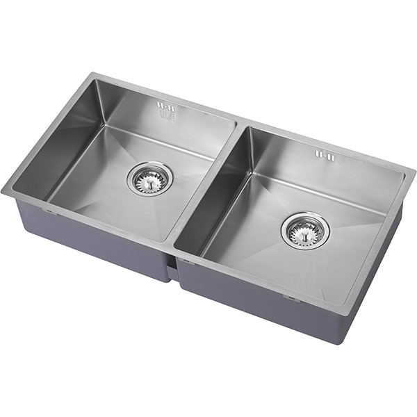 The 1810 Company Zenduo15 400/400U 2.0 Bowl Kitchen Sink - Stainless Steel-0
