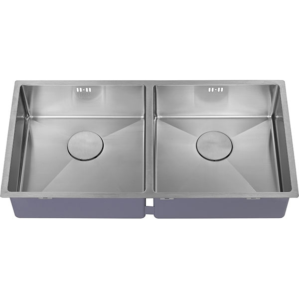 The 1810 Company Zenduo15 400/400U 2.0 Bowl Kitchen Sink - Stainless Steel-1