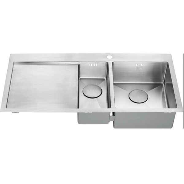 The 1810 Company Zenduo15 6 I-F 1.5 Bowl Kitchen Sink - Right Handed-1