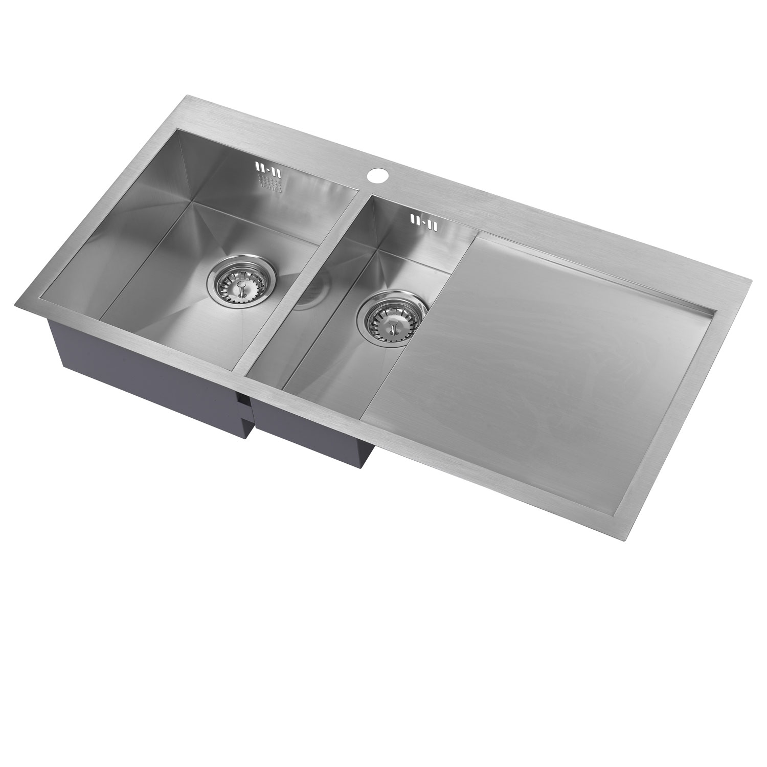 The 1810 Company Zenduo 6 I-F 1.5 Bowl Kitchen Sink - Left Hand-0