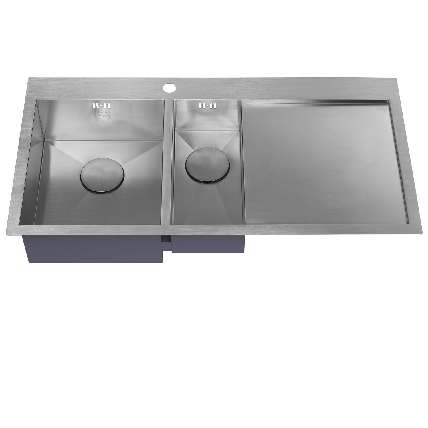 The 1810 Company Zenduo 6 I-F 1.5 Bowl Kitchen Sink - Left Hand-1