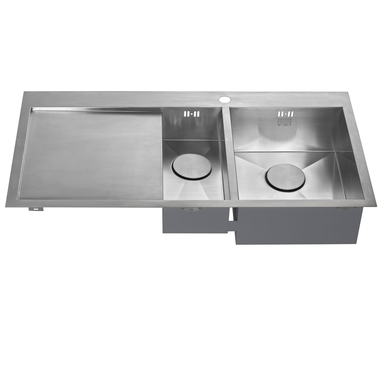 The 1810 Company Zenduo 6 I-F 1.5 Bowl Kitchen Sink - Right Hand-1