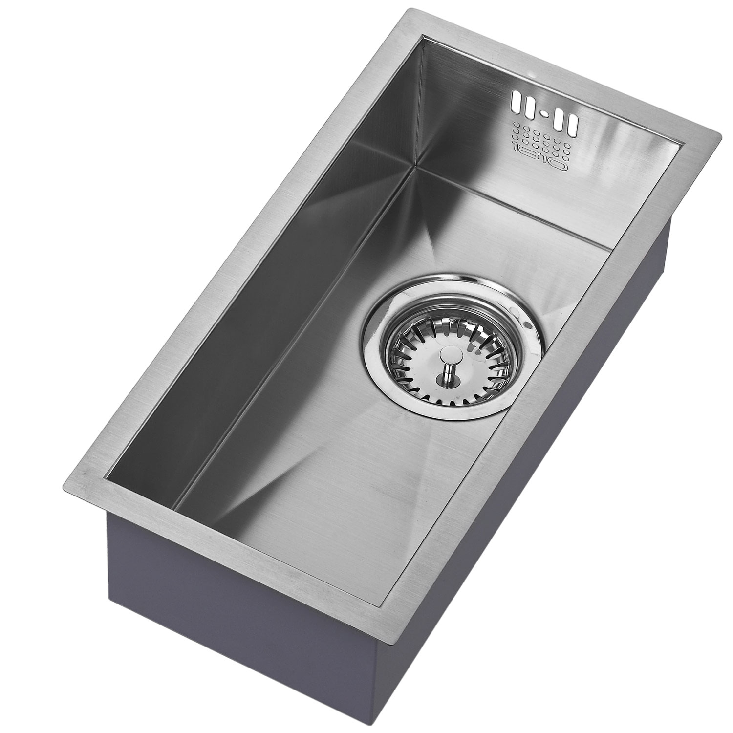 The 1810 Company Zenuno 180U 1.0 Bowl Kitchen Sink - Stainless Steel-0