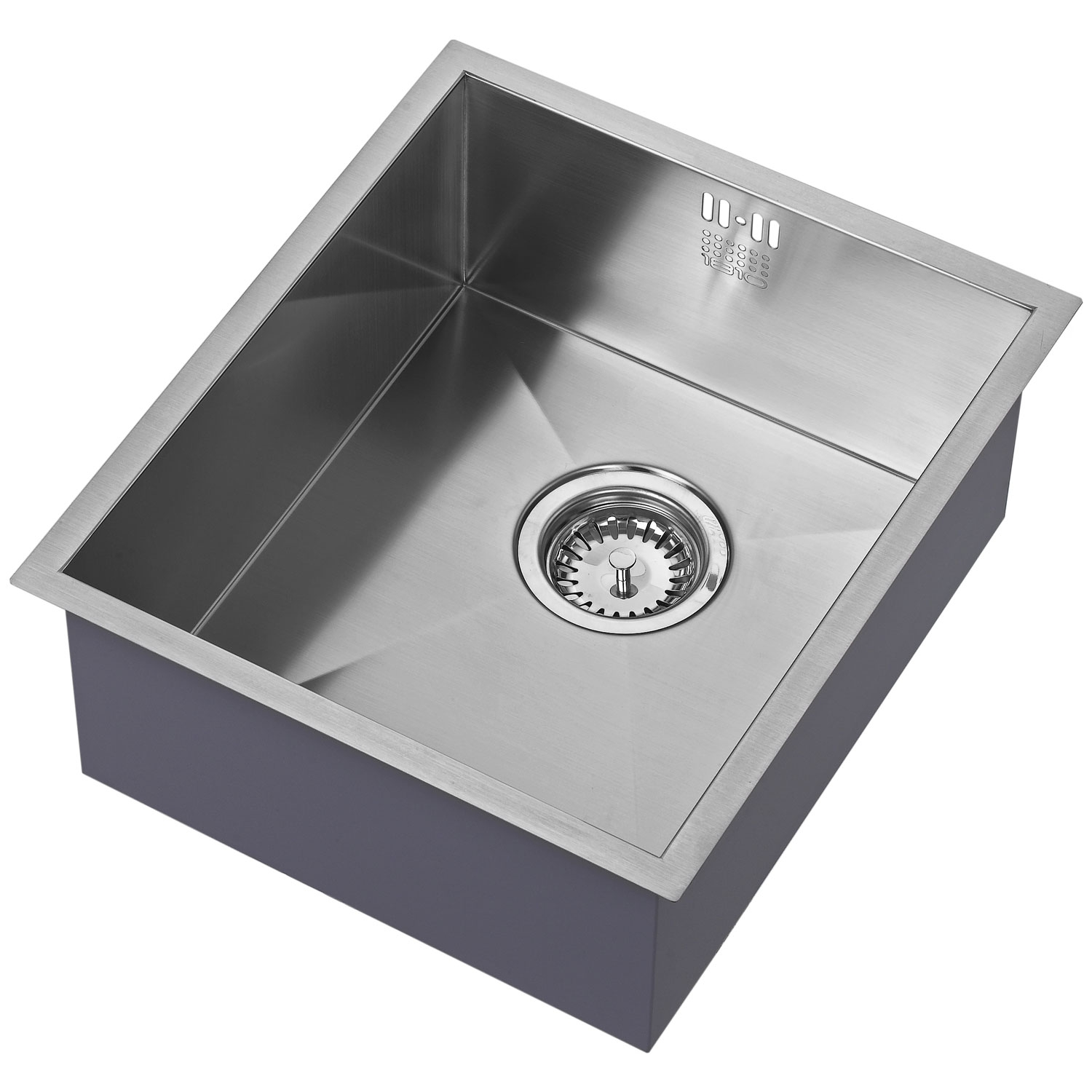 The 1810 Company Zenuno 340U 1.0 Bowl Kitchen Sink - Stainless Steel-0