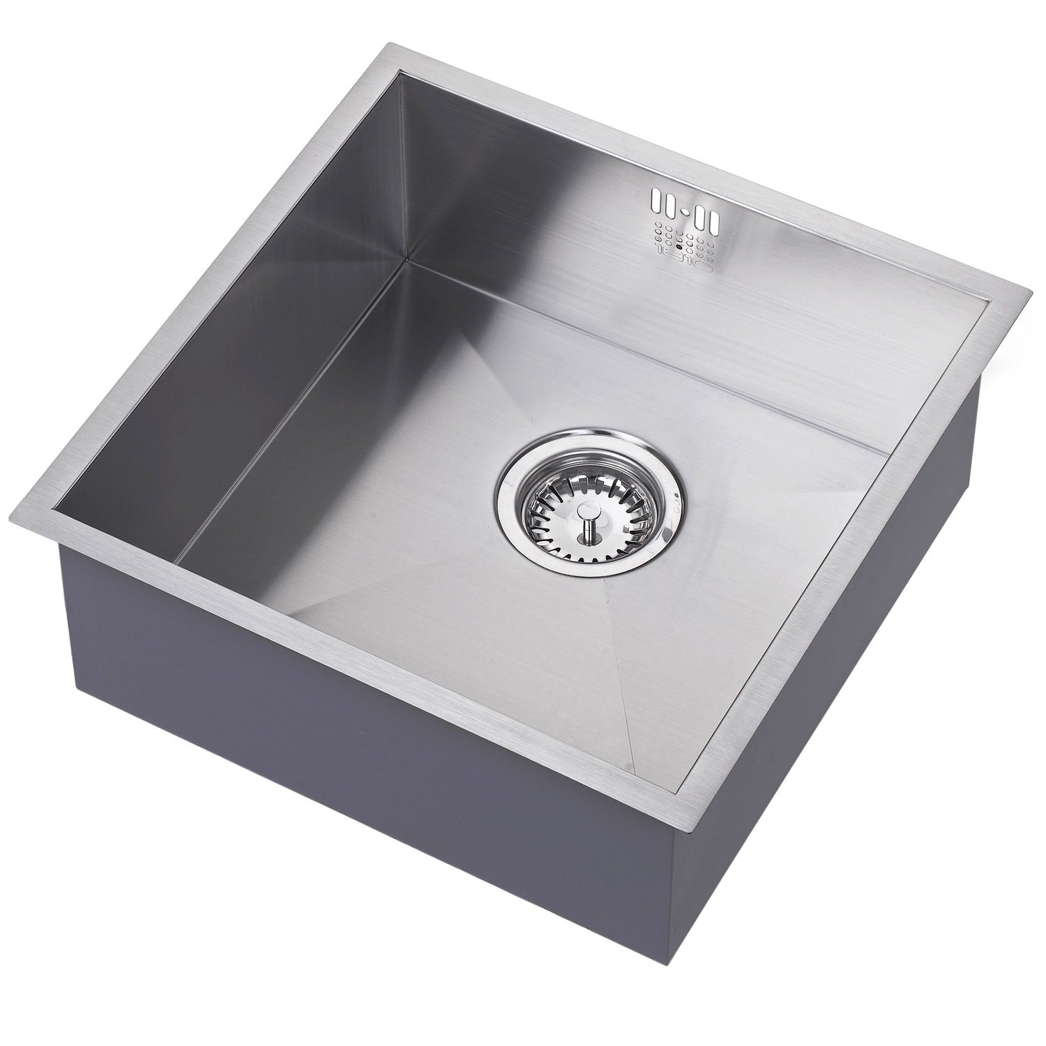 The 1810 Company Zenuno 400U 1.0 Bowl Kitchen Sink - Stainless Steel-0