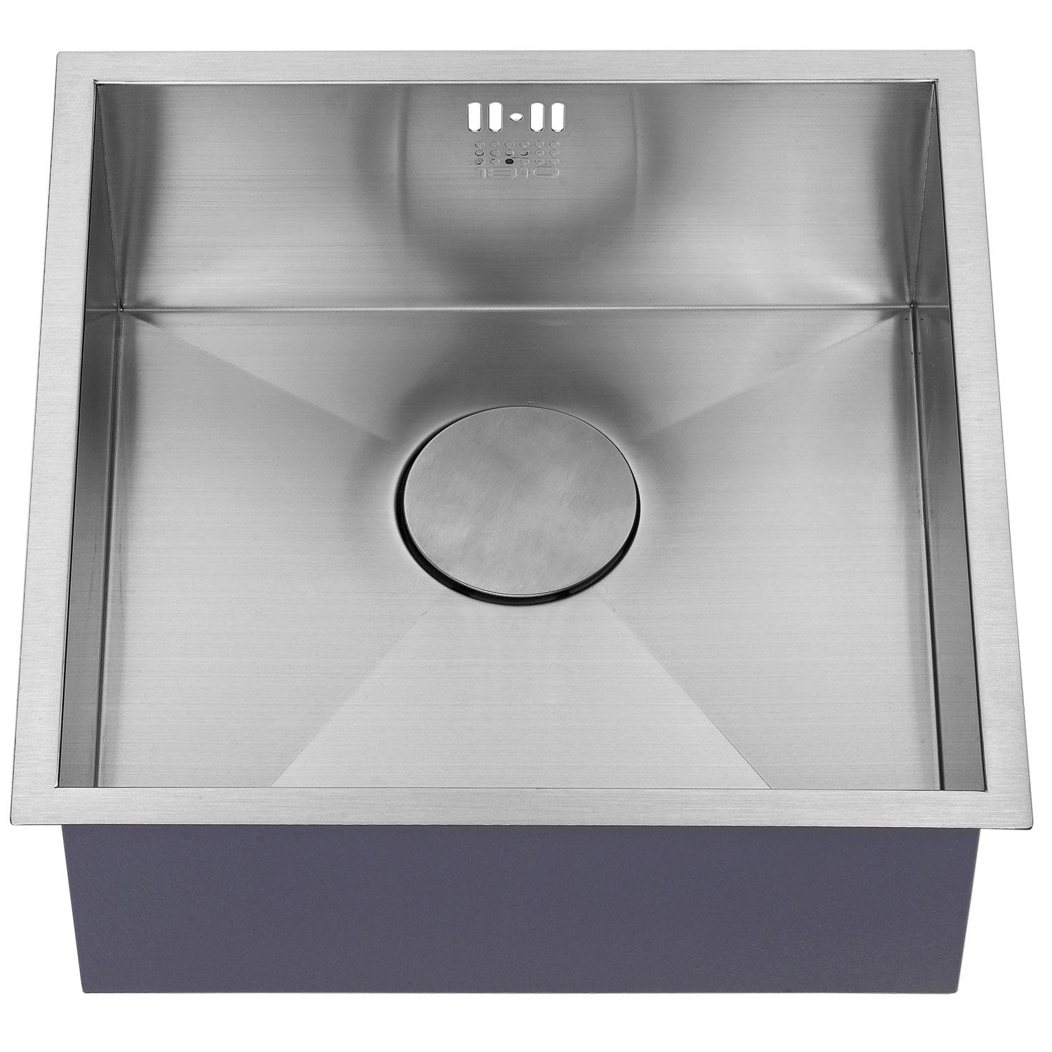 The 1810 Company Zenuno 400U 1.0 Bowl Kitchen Sink - Stainless Steel-1