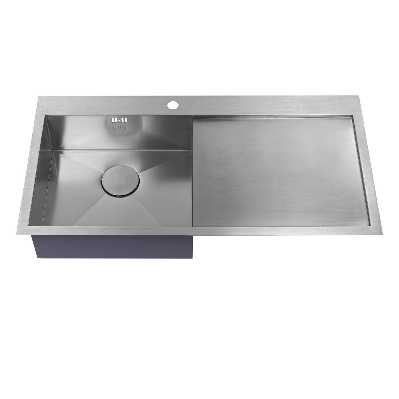 The 1810 Company Zenuno 5 I-F 1.0 Bowl Kitchen Sink - Left Hand-1
