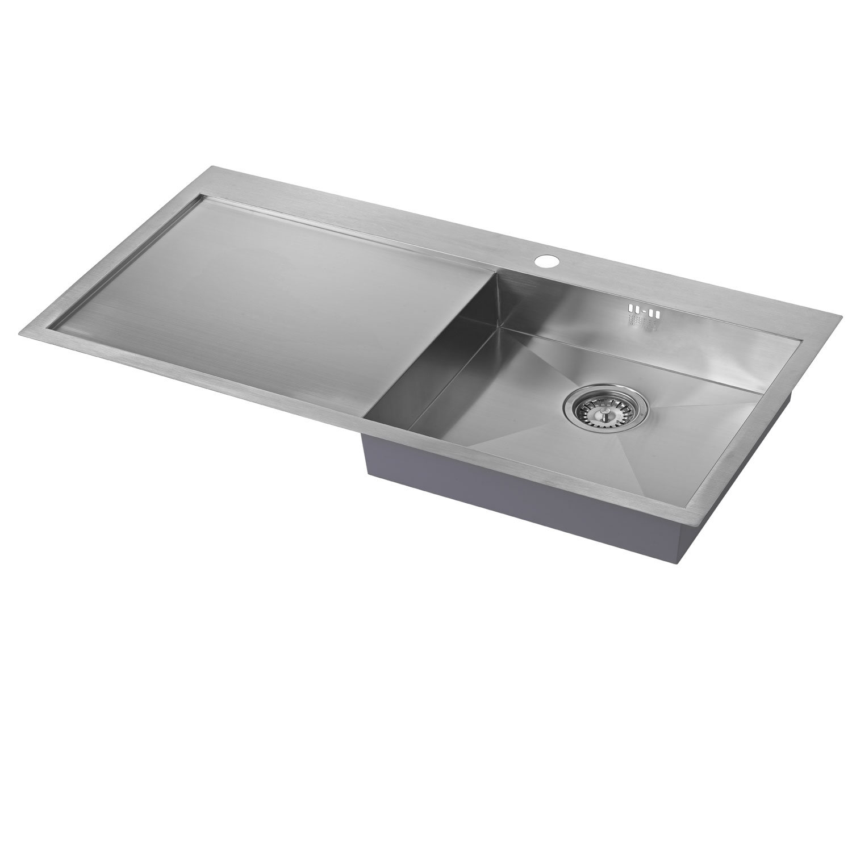 The 1810 Company Zenuno 5 I-F 1.0 Bowl Kitchen Sink - Right Hand-0