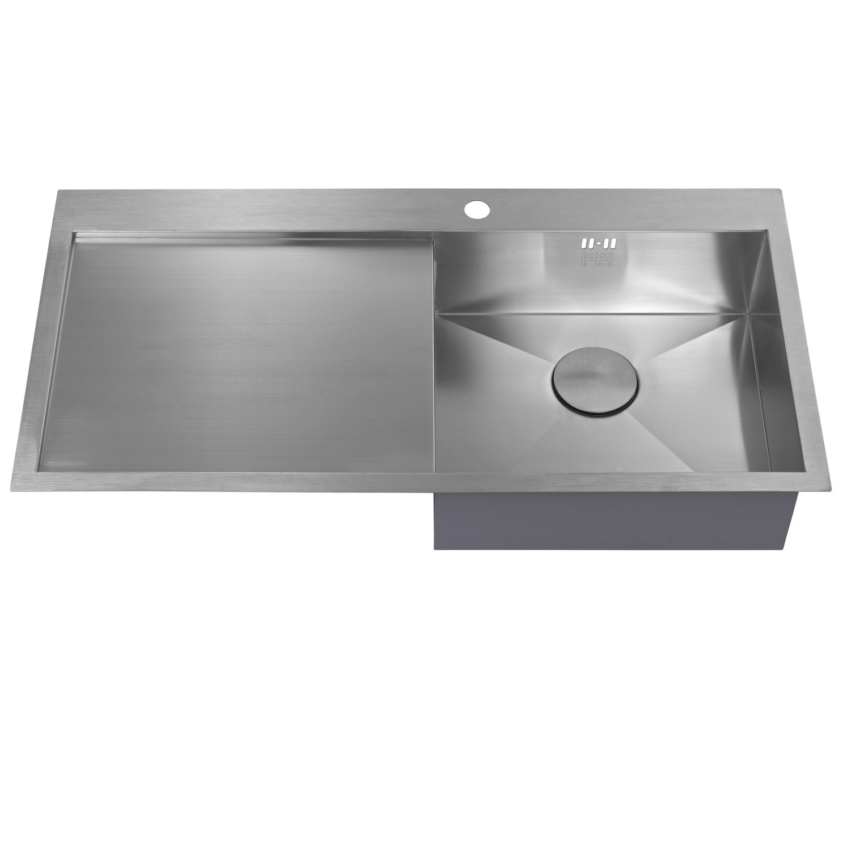 The 1810 Company Zenuno 5 I-F 1.0 Bowl Kitchen Sink - Right Hand-1