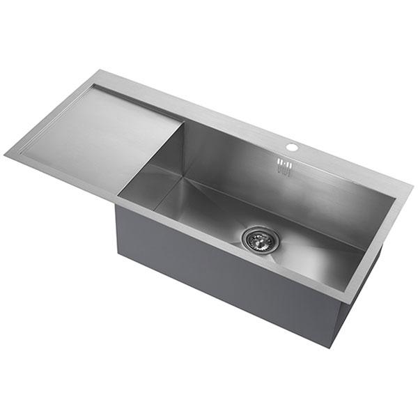 The 1810 Company Zenuno 70 I-F Deep 1.0 Bowl Kitchen Sink - Right Hand-0