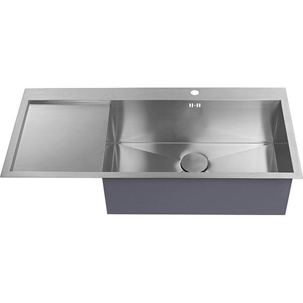 The 1810 Company Zenuno 70 I-F Deep 1.0 Bowl Kitchen Sink - Right Hand-1