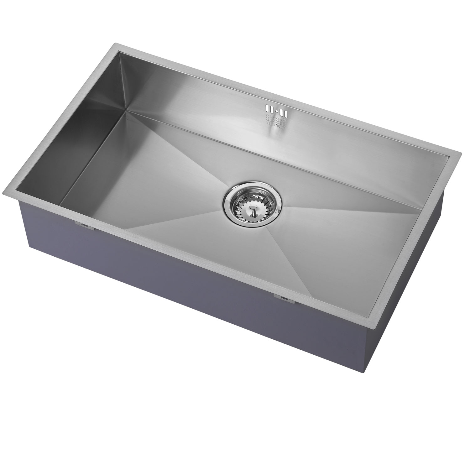 The 1810 Company Zenuno 700U 1.0 Bowl Kitchen Sink - Stainless Steel