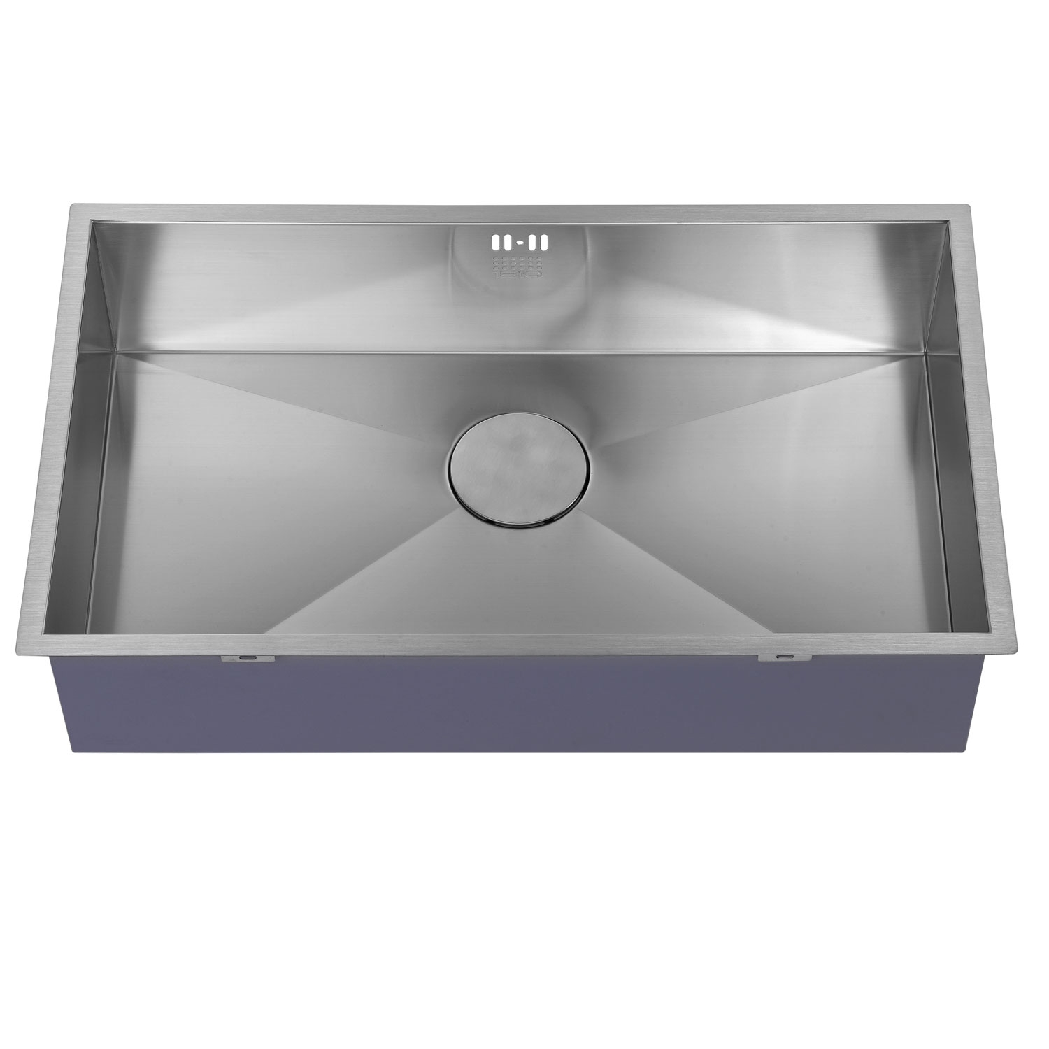 The 1810 Company Zenuno 700U 1.0 Bowl Kitchen Sink - Stainless Steel-1