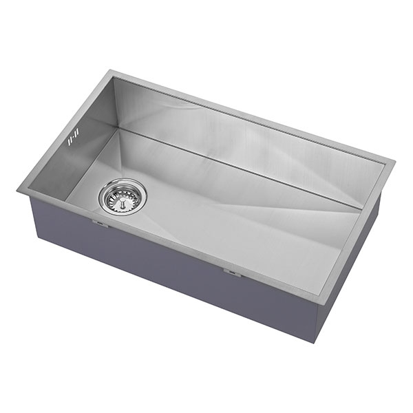 The 1810 Company Zenuno 700U OSW 1.0 Bowl Kitchen Sink - Stainless Steel