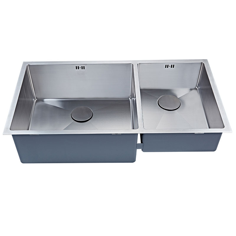 The 1810 Company Zenduo15 550/340 XXL Deep 1.5 Bowl Kitchen Sink - Stainless Steel-1